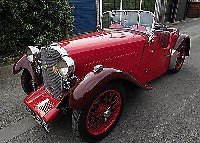 "1935 Singer Nine ""Le Mans"" with pre-war racing provenance now newly rebuilt!"