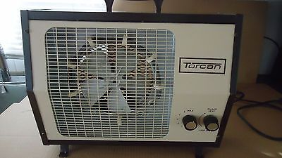 vintage torcan heater & fan