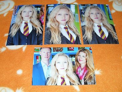 Naomi Battrick Connie Hyde 6x4 Photograph Set. Tv Actress The Bill Waterloo Road