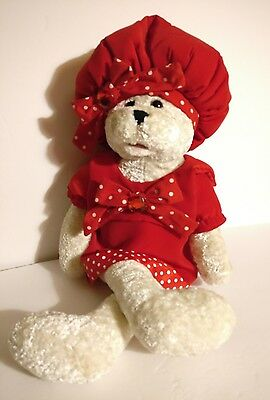 """CHANTILLY LANE BEAR DOLL Sings """"Top of the World With Tag Musical/Animated"""