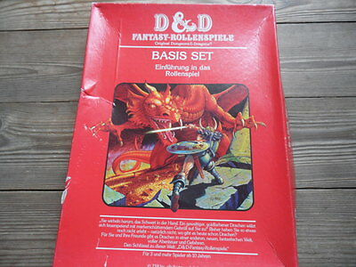 Dungeons & Dragons Fantasy-rollenspiele Basis set. 1983 german edition. Deutsch