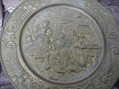 14 Inch Brass Wall Plaque