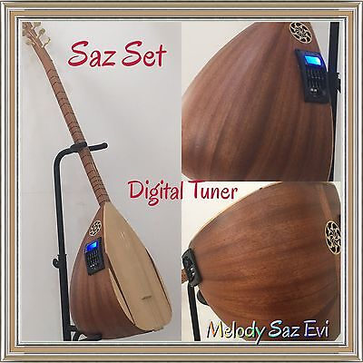 Saz Baglama // Equalizer /Digital Tuner/  Tonabnehmer/ Elektro/video/ Melody
