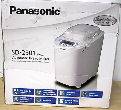 Panasonic SD-2501 Bread Maker With Gluten Free Mode