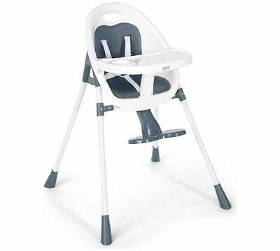 Mamas and Papas Bop Navy 2-in-1 Highchair Official Smooth Modern Converts Style