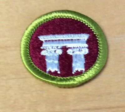 Boy Scouts Architecture Merit Badge Type H  New