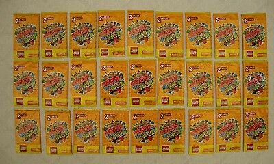 Lego Create the World cards from Sainsbury's 27 packs of 2 - 54 cards all new