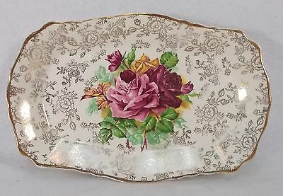 "JAMES KENT china Old Foley 5308 pattern Small Tray @ 7-7/8""x5-1/8"" - crazed"