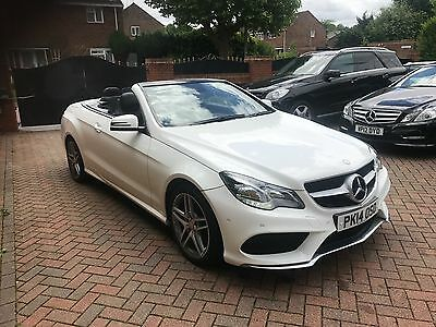 2014 Mercedes-Benz E250 Amg Sport Cdi Auto Diesel Convertible 7G-Tronic