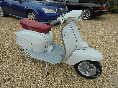 Lambretta 125 Special. Fully Restored In Immaculate Condition Only Done 20 Miles