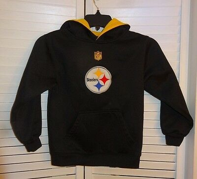 Youth STEELERS Hoodie    Size 7/ Large    EUC