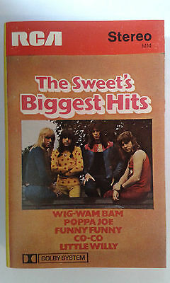 The Sweet - The Sweet's biggest hits (1972 compilation cassette album)