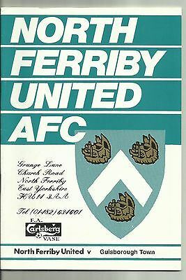 FA Vase Semi Final North Ferriby United v Guisborough Town 1997