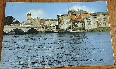 1950's King Johns Castle Postcard