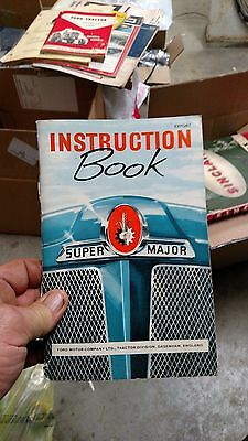 Fordson Super  Major Tractor Instruction Hand Book 1960