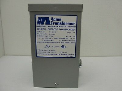 new acme 5kva transformer 1 one single phase 120v/240v-12v/24v t wiring  diagram