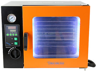 0.9CF Vacuum Oven - Stainless Steel Interior w/ LED Display, LED's and 4 Shelves