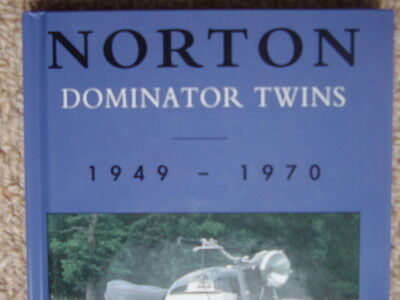 NORTON DOMINATOR TWINS by ROY BACON includes - Model 7, 77, 88, 99, Featherbed