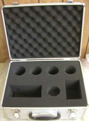Large Celestron telescope eyepiece aluminum case for 2 inch eyepieces