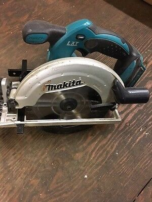 Used Makita Bss611 18V Li-Ion  Cordless Circ Circular Saw  Tested And Working