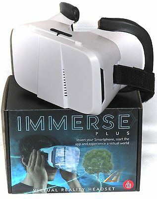Thumbs Up Immerse Plus Virtual Reality Headset 3D VR Smartphone Glasses NEW