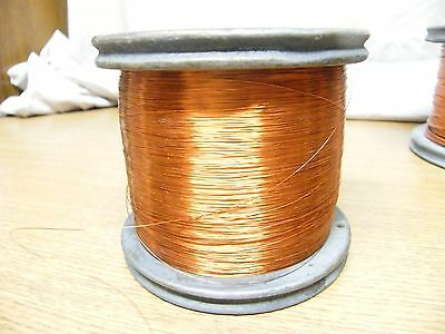 32 AWG 5.5 lbs. Copper Magnet Wire Heavy Formvar .0089 Essex Guitar Pick-Up