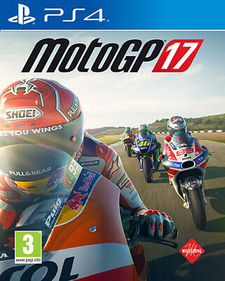Moto GP 17 PS4 Playstation 4 MILESTONE