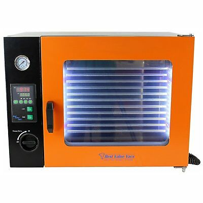 1.9CF ECO Vacuum Oven -Stainless Steel Interior w/ LED Display, LED's -5 Shelves