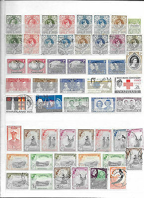 Stamps / British Colonies / Swaziland