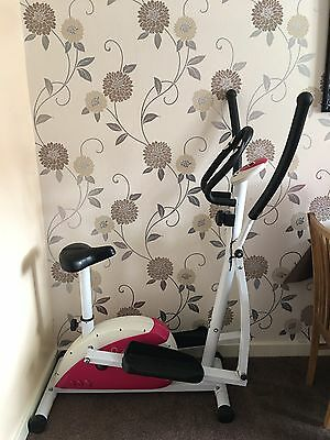 Davina Mccoll 2 In 1 Cross Trainer And Bike