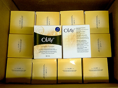 Wholesale Lot Of 30 Olay Complete Night Fortifying Moisture Cream Aloe & Vitamin
