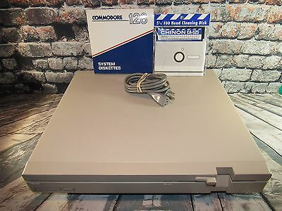 Vintage Commodore 128D Personal Computer Model C128D - Powers On