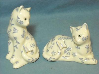 Lenox The Floral Cat Salt And Pepper Shaker Set