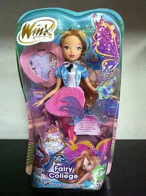 "Winx Movie: The Mistery of the Abyss - Fairy College 11"" FLORA Doll MIB, 2014"