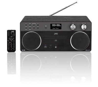 Jvc Rd-D90 Hi-Fi Stereo System Dab Radio Cd Player Wireless Bluetooth Usb Port