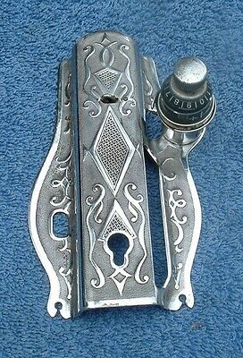 Singer 115 Sewing Machine Ornate Front  Plate Cover w/Thread Tension   Scrolled