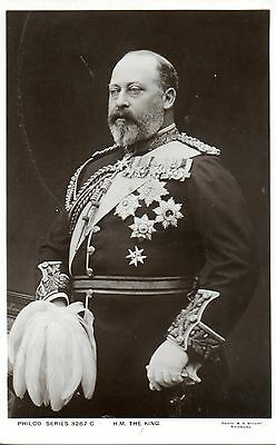 H.M. THE KING c1905 ROYALTY POSTCARD EXC