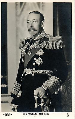 HIS MAJESTY THE KING c1930 ROYALTY POSTCARD