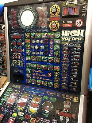 HIGH VOLTAGE £100 jackpot Note Acceptor Fitted Accepts New £5 And £10