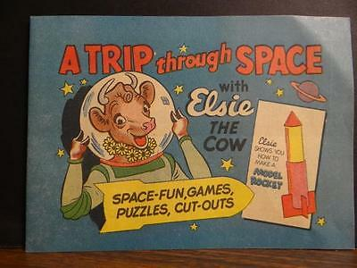 Elsie The Cow Trip Through Space Comic Book New Old Stock B1S1