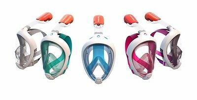 TRIBORD SUBEA EASYBREATH Full Face Snorkeling Mask With GoPro Camera Mount