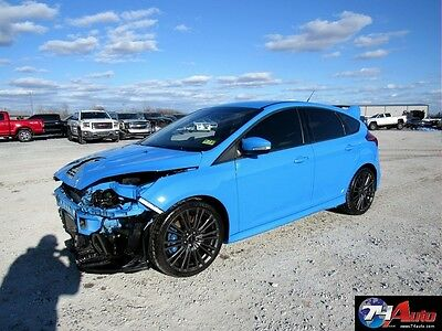 2016 Ford Focus  2016 -74 Auto-- Salvage Repairable, wholesale, rebuilt, export, RS , AWD