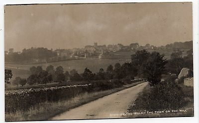 Stow On The Wold The Town On The Hill View Gloucestershire Old Photo Postcard