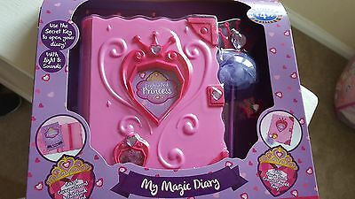 Pink girls magic diary notepad with lights and sounds