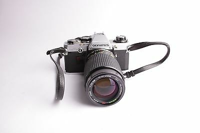 olympus om 10 and sirius 70-210 1:4-5.6 zoom lens