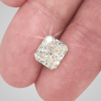 3.24 Ct Radiant Cut Natural Certified Loose Diamond - H Color SI1 Clarity #D2714