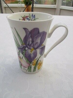 Roy Kirkham spring flowers mug very good used condition