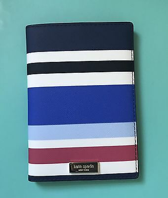 Kate Spade Imogene Laurel Way Printed New Waltz Stripped Passport Holder NEW