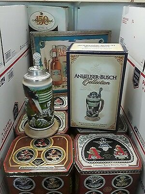 Anheuser Busch Dalmatian Family Series Making Friends Stein CS606 Ceramarte