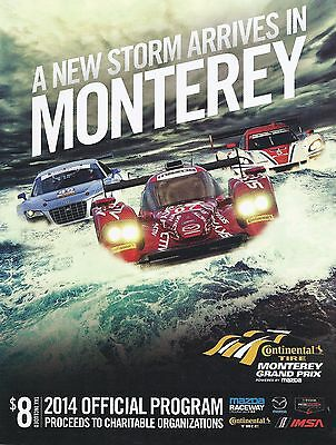 2014 IMSA Monterey Grand Prix Program - TUDOR United SportsCar Series
